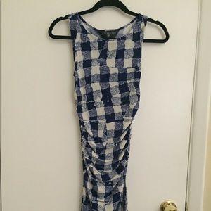 KamaliKulture Drunken Check Dress